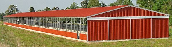 For Sale Commercial Steel Metal Barn Gainesville, FL