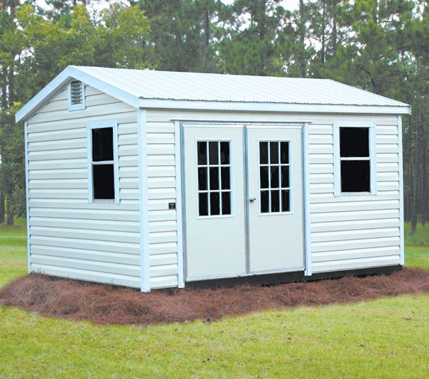 End Gable Box Eave Metal Shed Storage Building Gainesville, FL