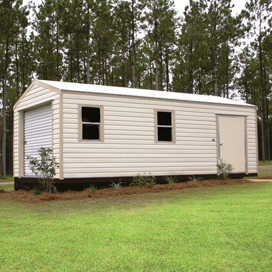 End Gable Lapsider Metal Shed Storage Building Gainesville, FL
