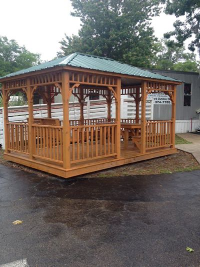 Gazebo For Sale Gainesville, FL 10x14 Outside
