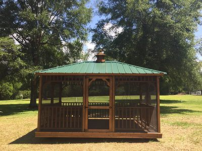 10x14 screened gazebo