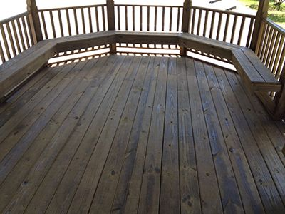 Gazebo For Sale Gainesville, FL Flooring Structure