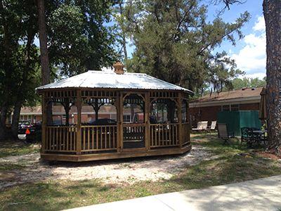 Gazebo Gainesville, Florida Screened Door and Gazebo