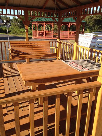 Gazebo Gainesville, Florida Swing And Table