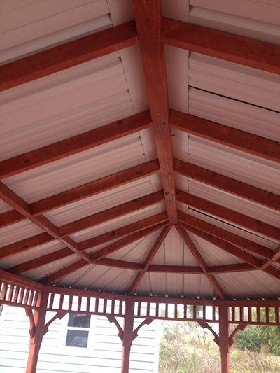 For Sale Gazebo Gainesville, FL Under Roof Interior