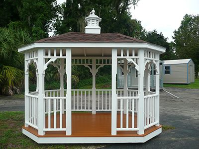 For Sale Gazebo Gainesville, FL With Cupola White