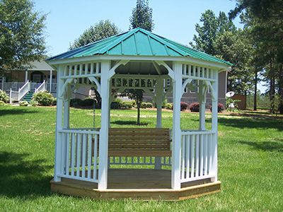 For Sale Gazebo Gainesville, FL With Swing