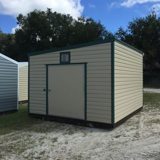 Lean To Metal Shed Storage Building Gainesville, FL