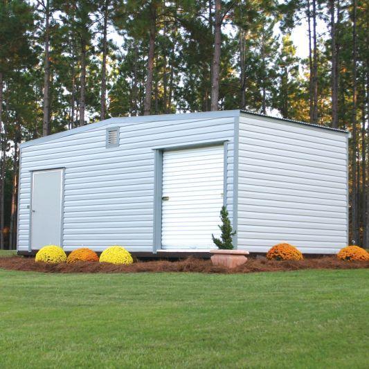 Lumberjack Metal Shed Storage Building Gainesville, FL