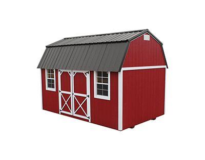 Portable Building Side Lofted Barn