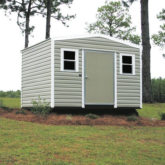 Side Gable Lapsider Metal Shed Storage Building Gainesville, FL