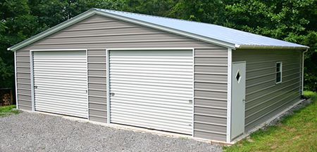 Triple Wide Carport Metal Building Gainesville, Florida