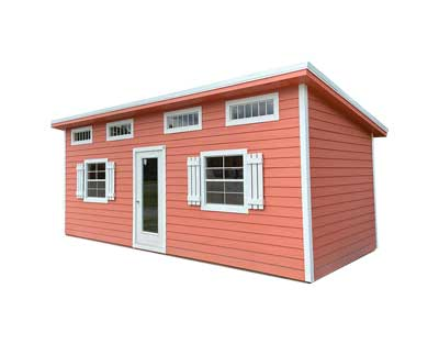 Portable Building For Sale - Urban Deluxe Wooden Shed.